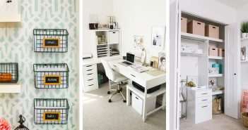 Home Office Organization Projects