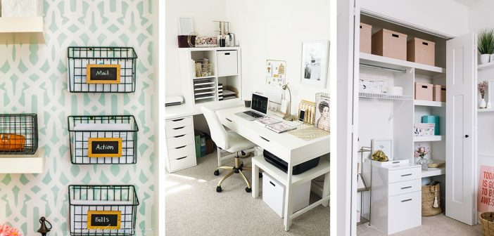 14 Best Home Office Organization Ideas And Projects For 2021