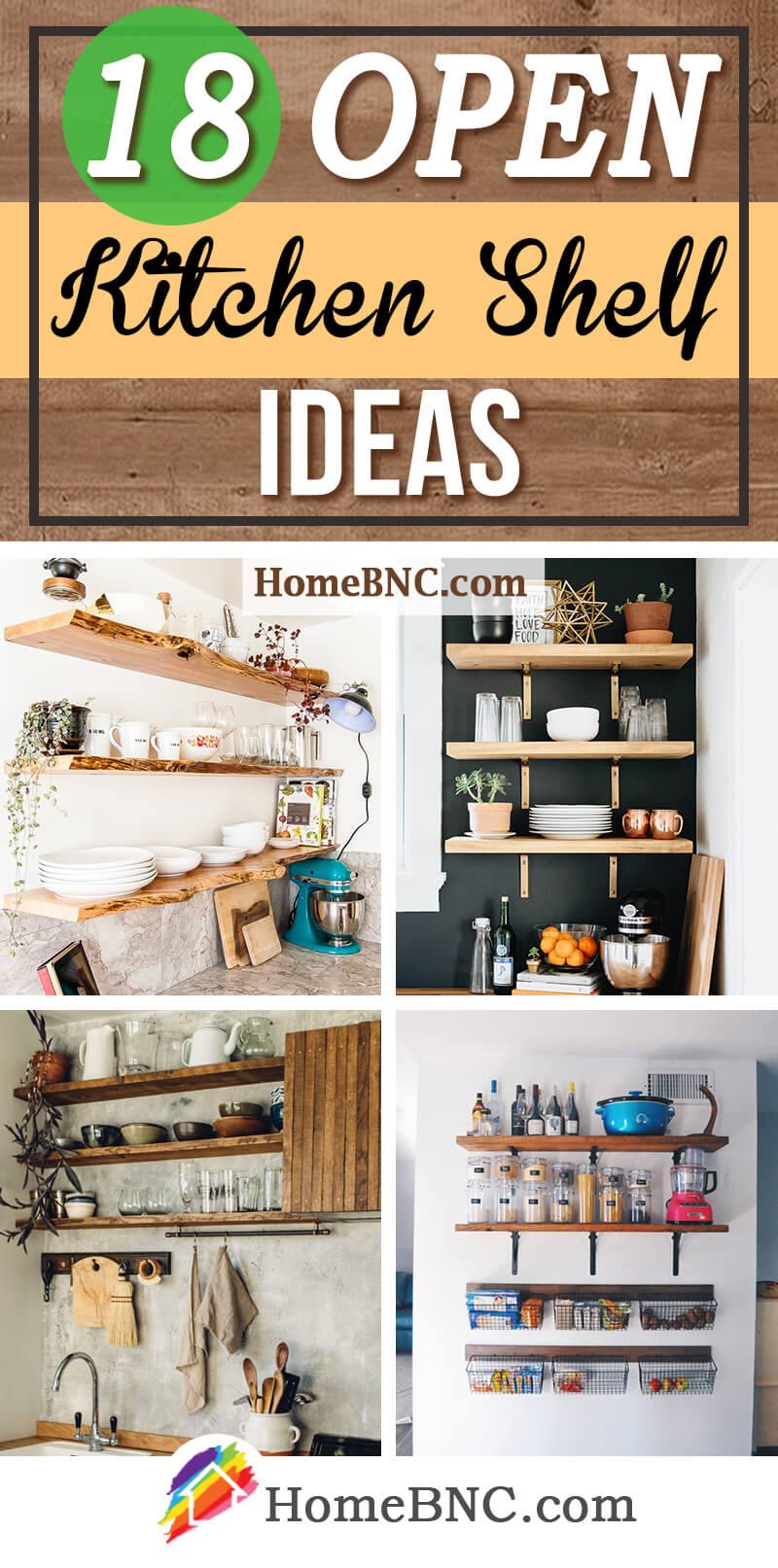 Open Kitchen Shelf Ideas