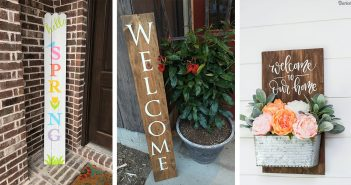Spring Porch Signs
