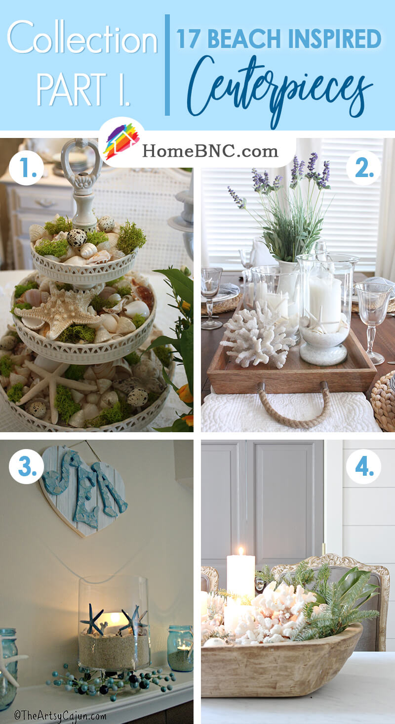 17 Best Beach Themed Centerpiece Ideas