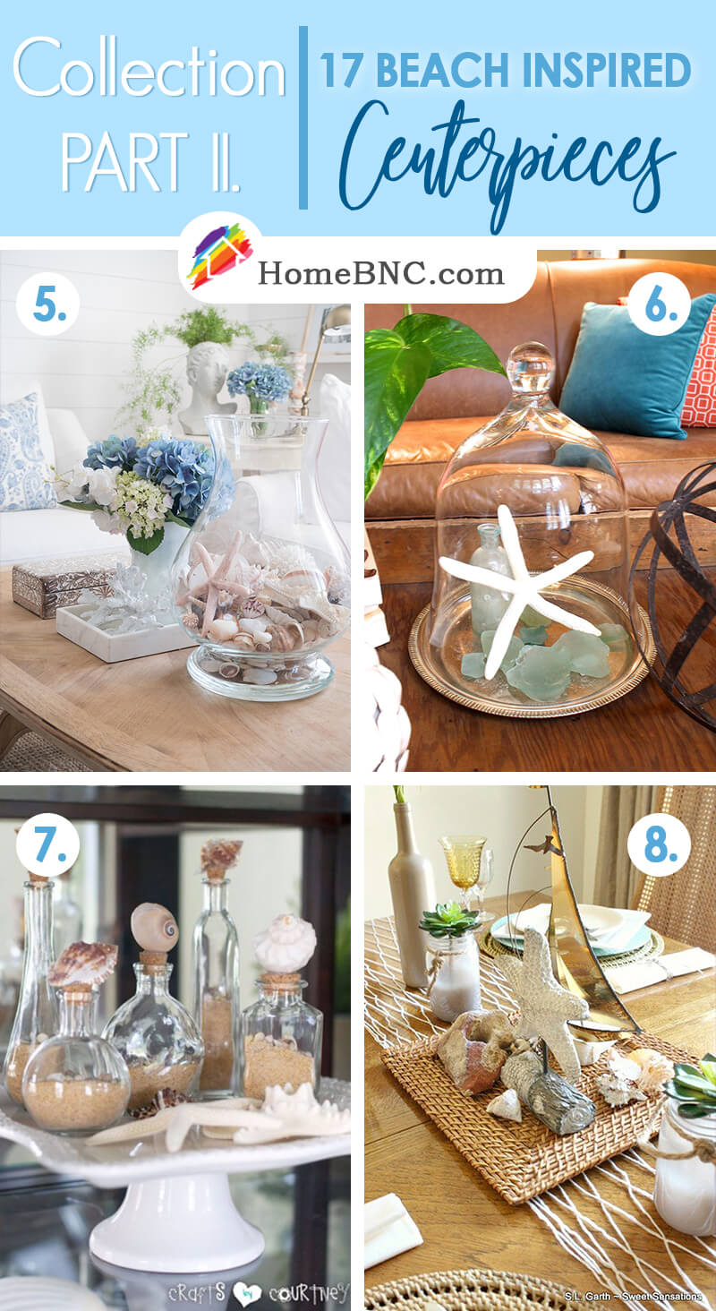 Beach Themed Centerpiece Ideas Part 2