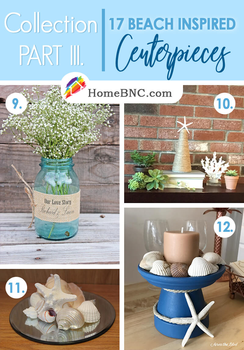 Beach Themed Centerpiece Ideas Part 3