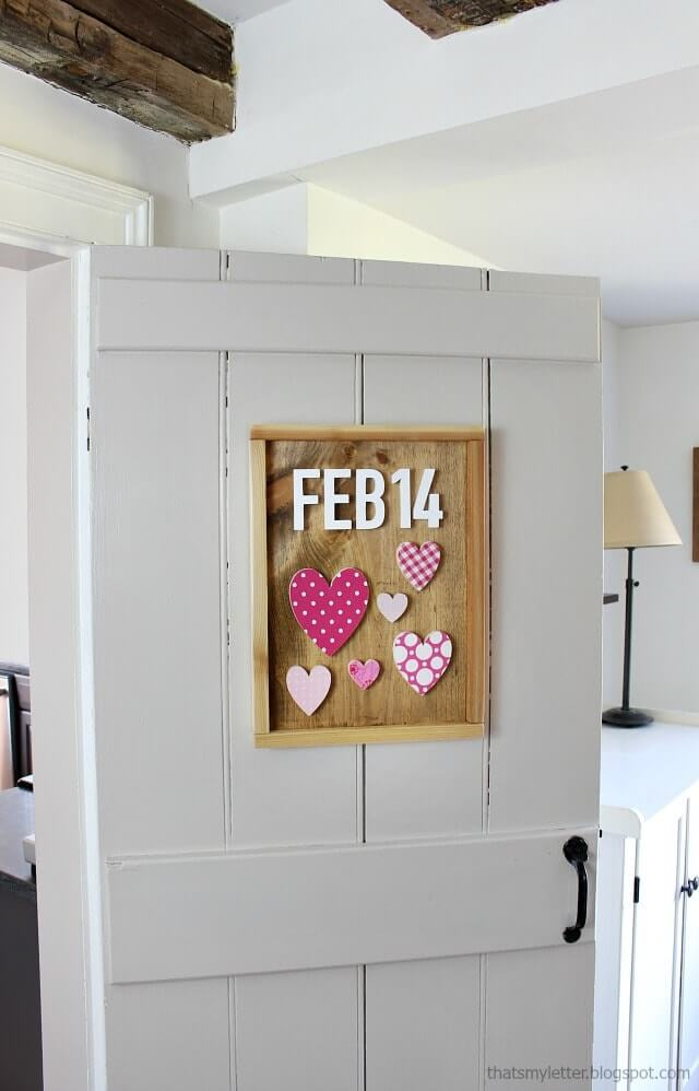 DIY Rustic Heart Command Center Header