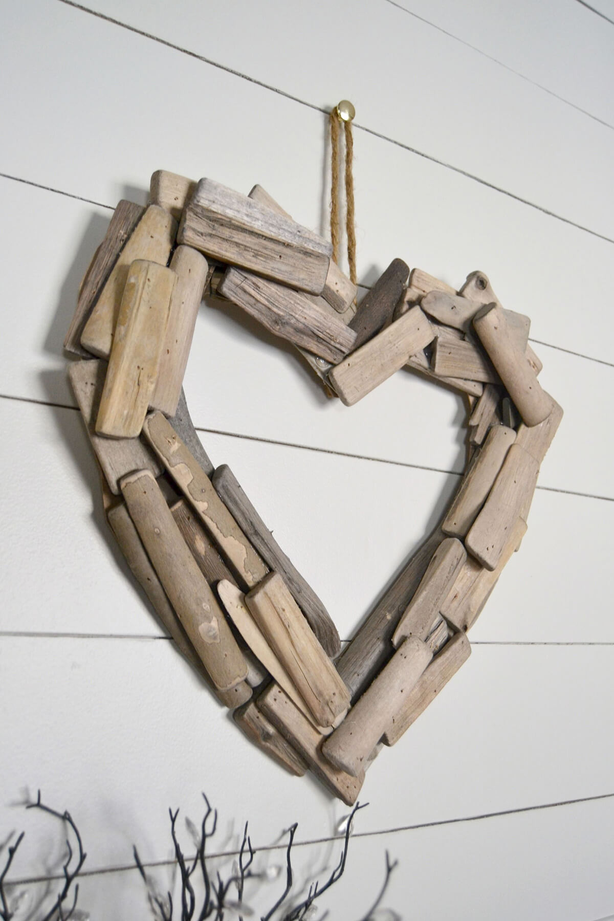 Lovely Wood Heart DIY Project