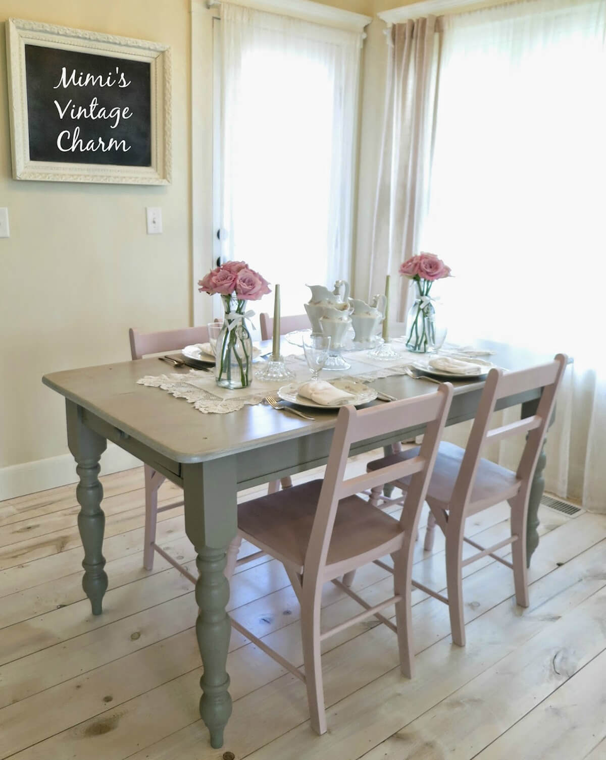 Simple Jars and Antique Cutlery