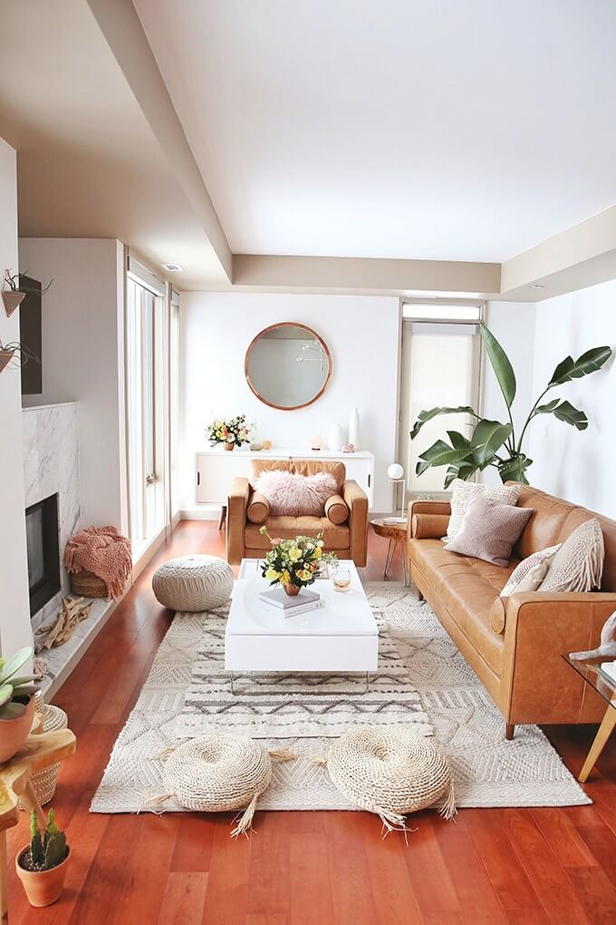 Wool Pillows, Flowers, and Bright Colors