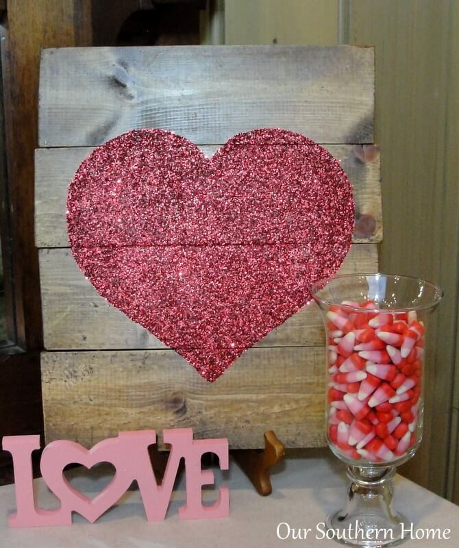 DIY Statement Piece for Valentines Day