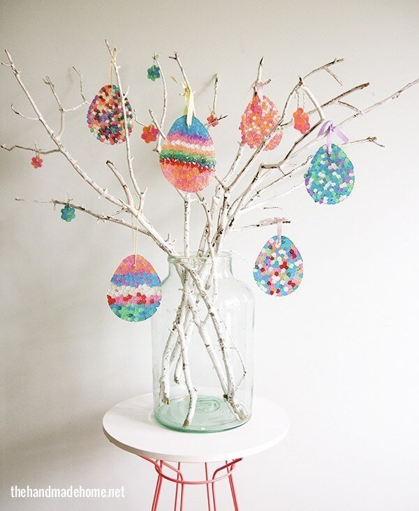 The Perfect Easter Egg Spring Tree with Sun Catchers