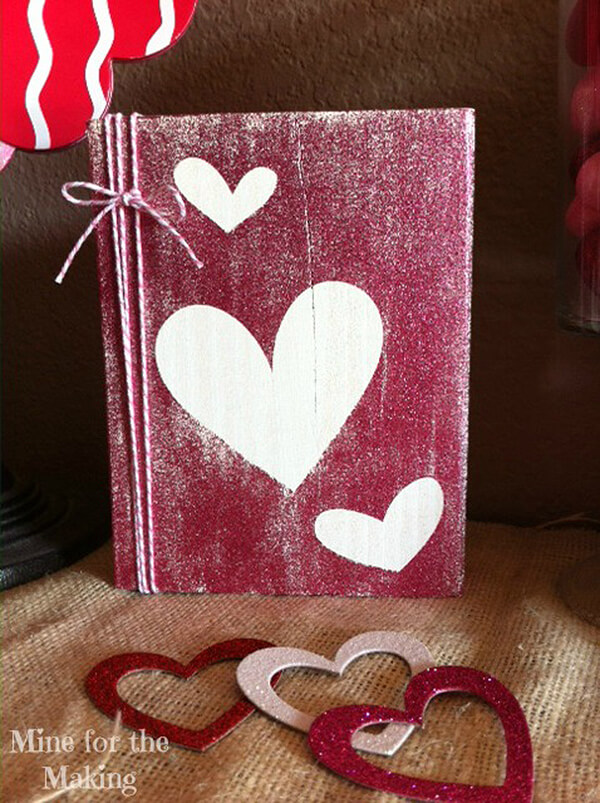 DIY Wood Scrapbook Covers