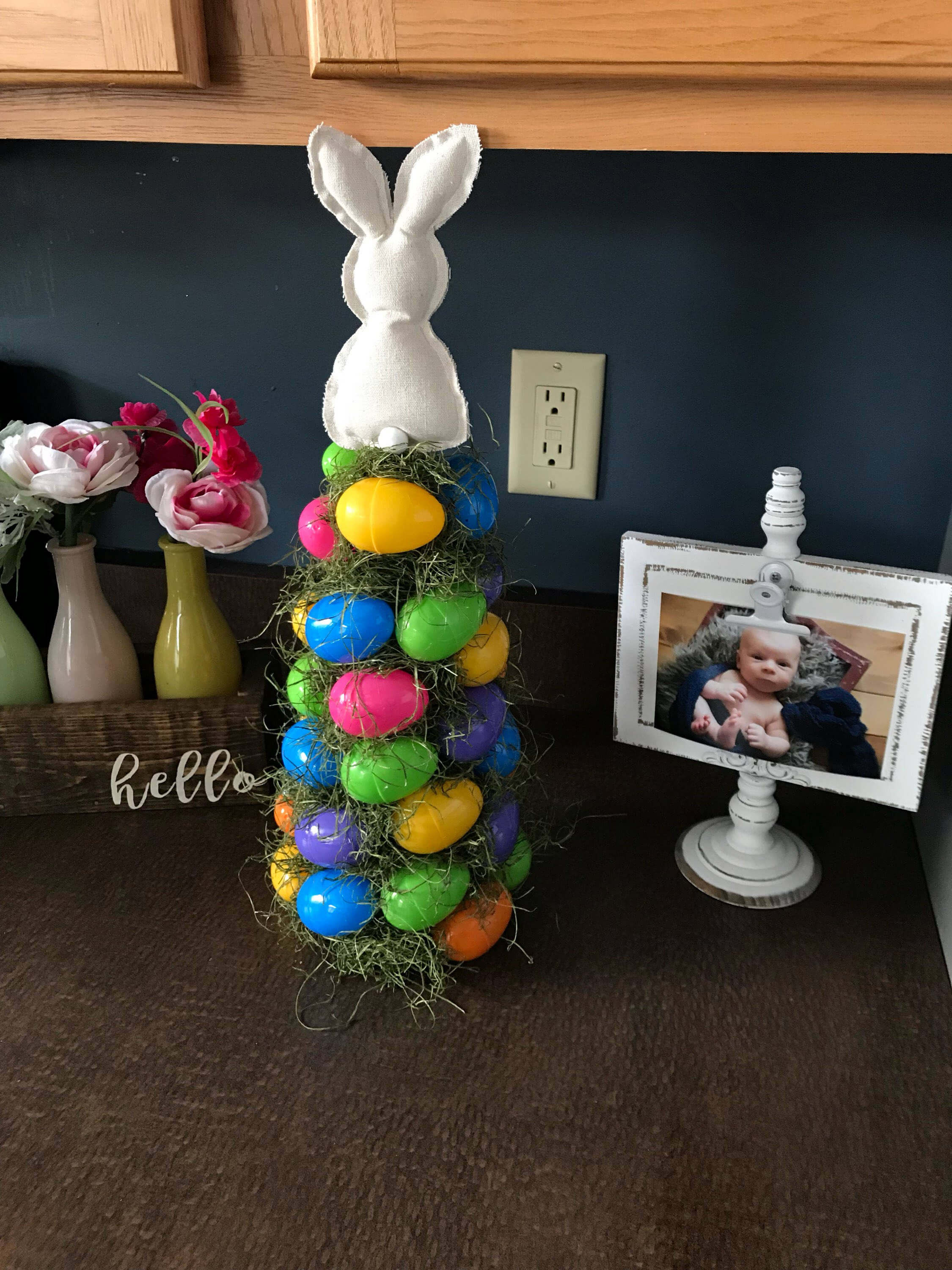 Custom Easter Tree with Topper