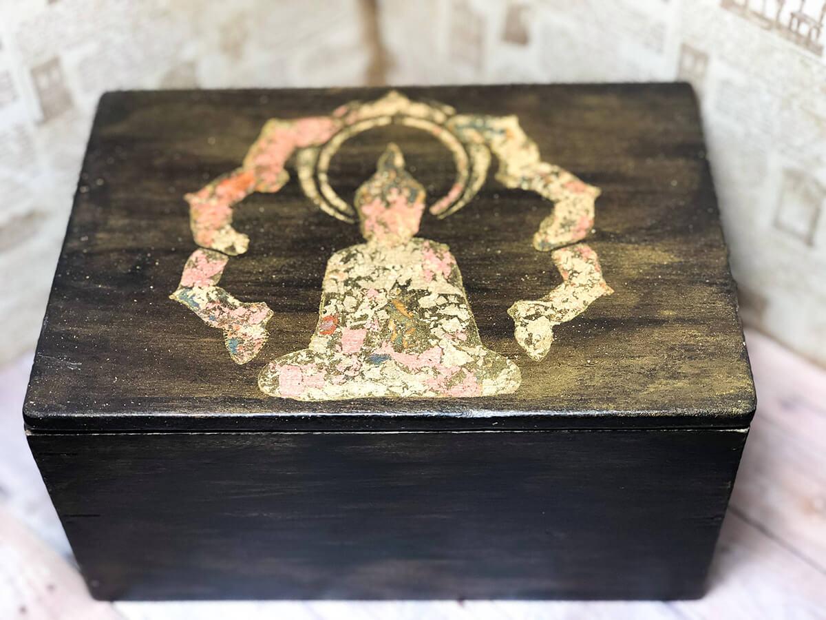 A Distressed Buddha Box