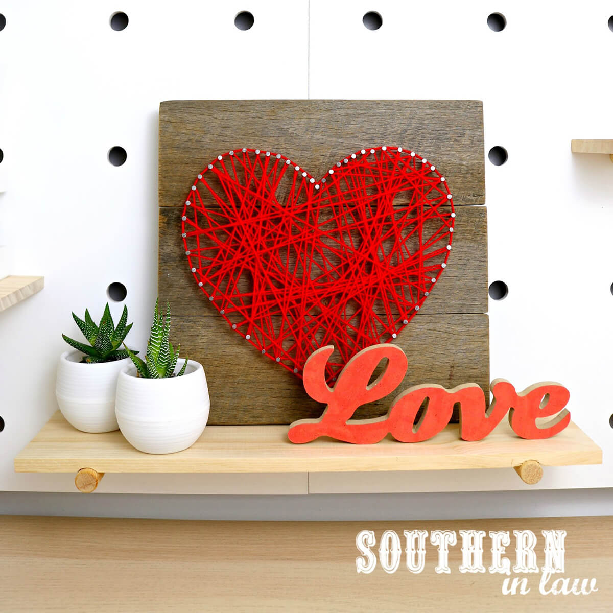 Much Love From String Art
