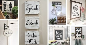 Bathrooms Sign Designs