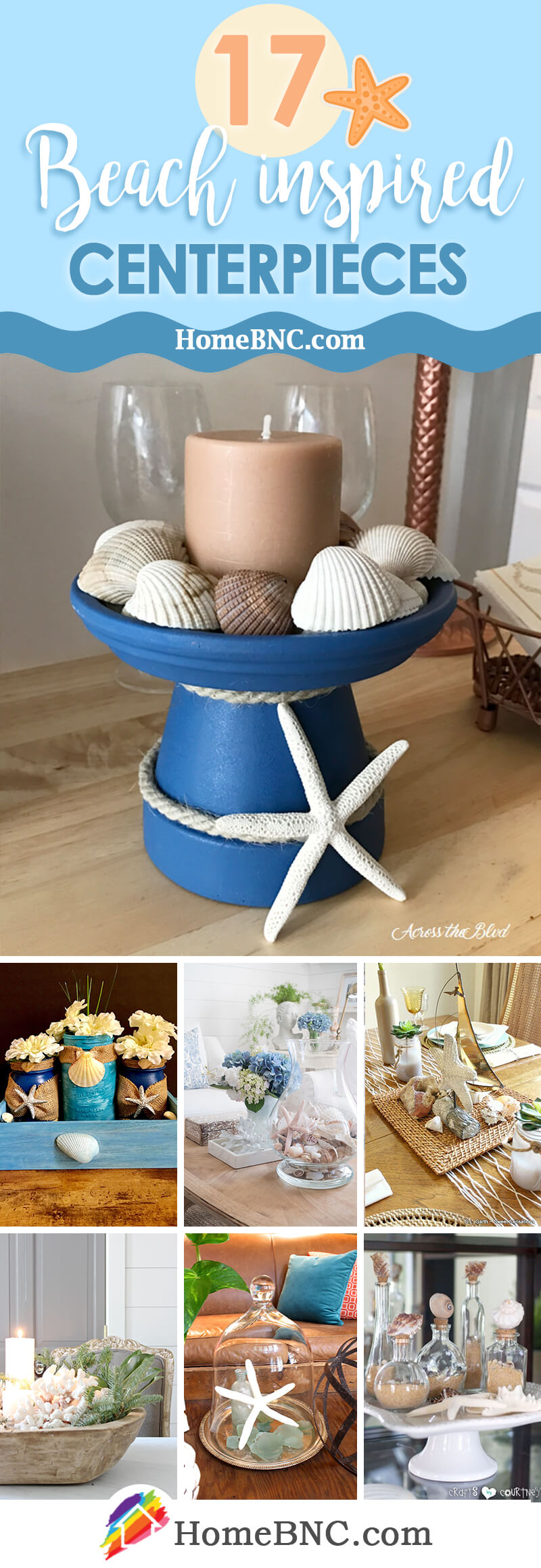 Beach Themed Centerpiece Ideas
