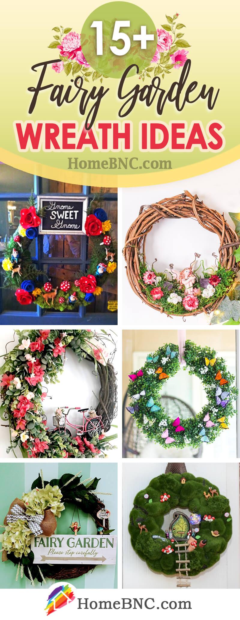 Fairy Garden Wreath Ideas