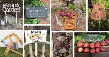 Garden Sign Designs