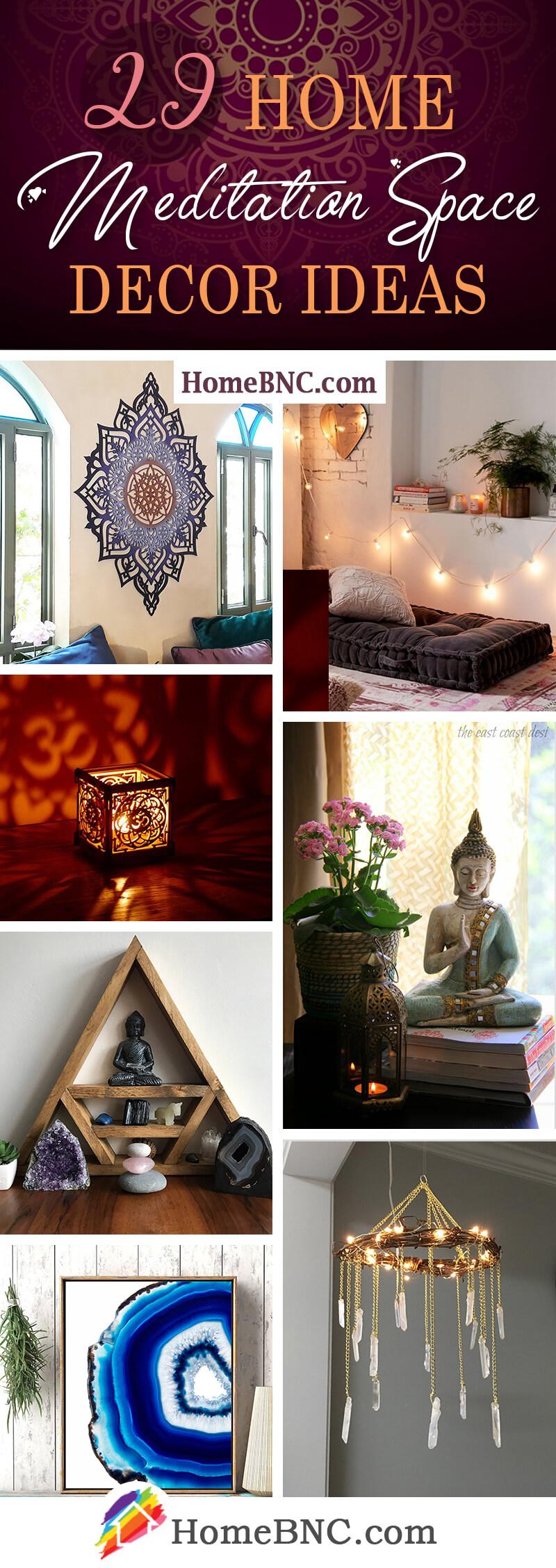 Home Meditation Space Decor Ideas
