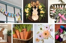 Rustic Easter and Spring Decorations