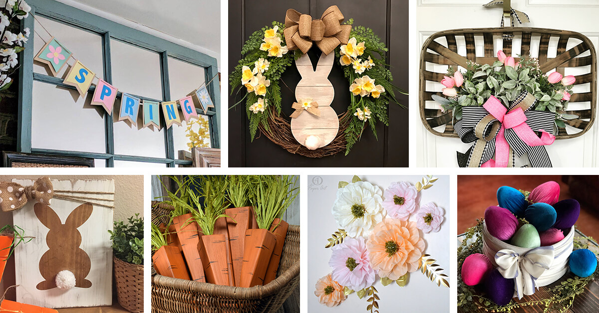 Best Decoration Ideas: 32+ Best Rustic Easter And Spring Decoration Ideas For 2019