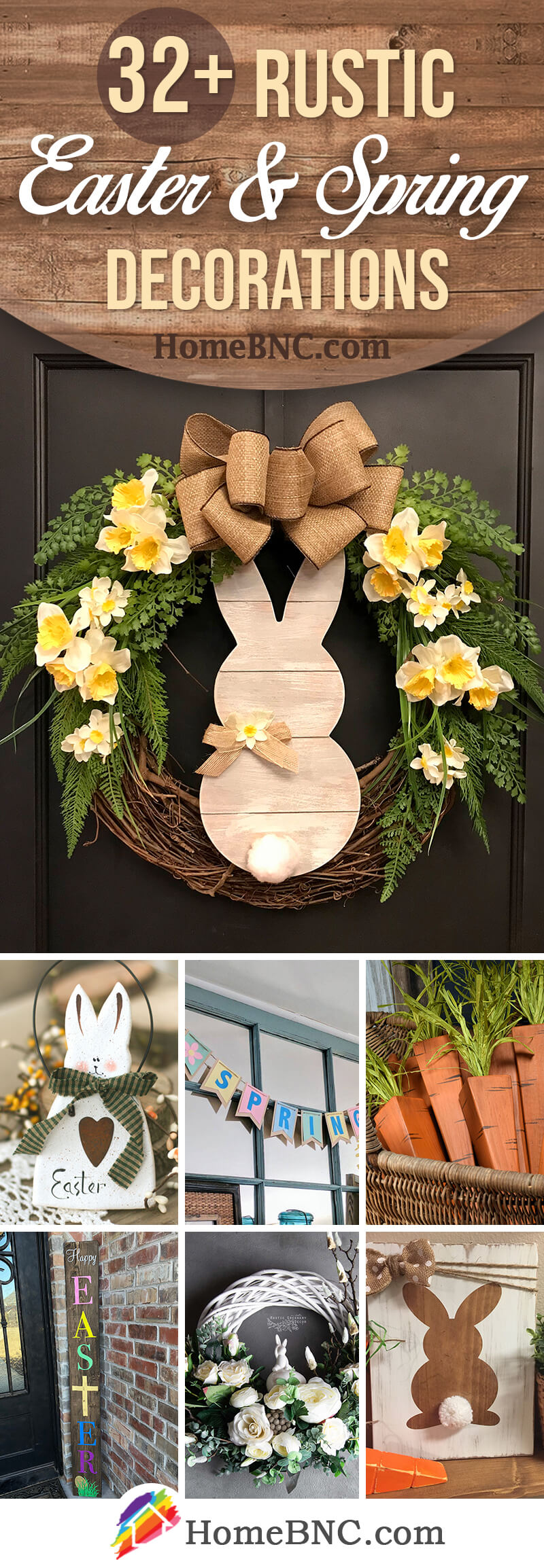 Rustic Easter and Spring Decoration Ideas