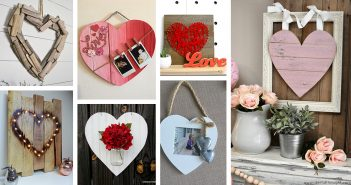 Rustic Wood Heart DIY Projects