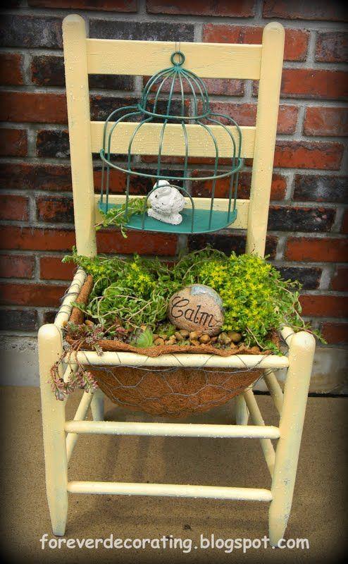 From Garage Sale to Garden Oasis