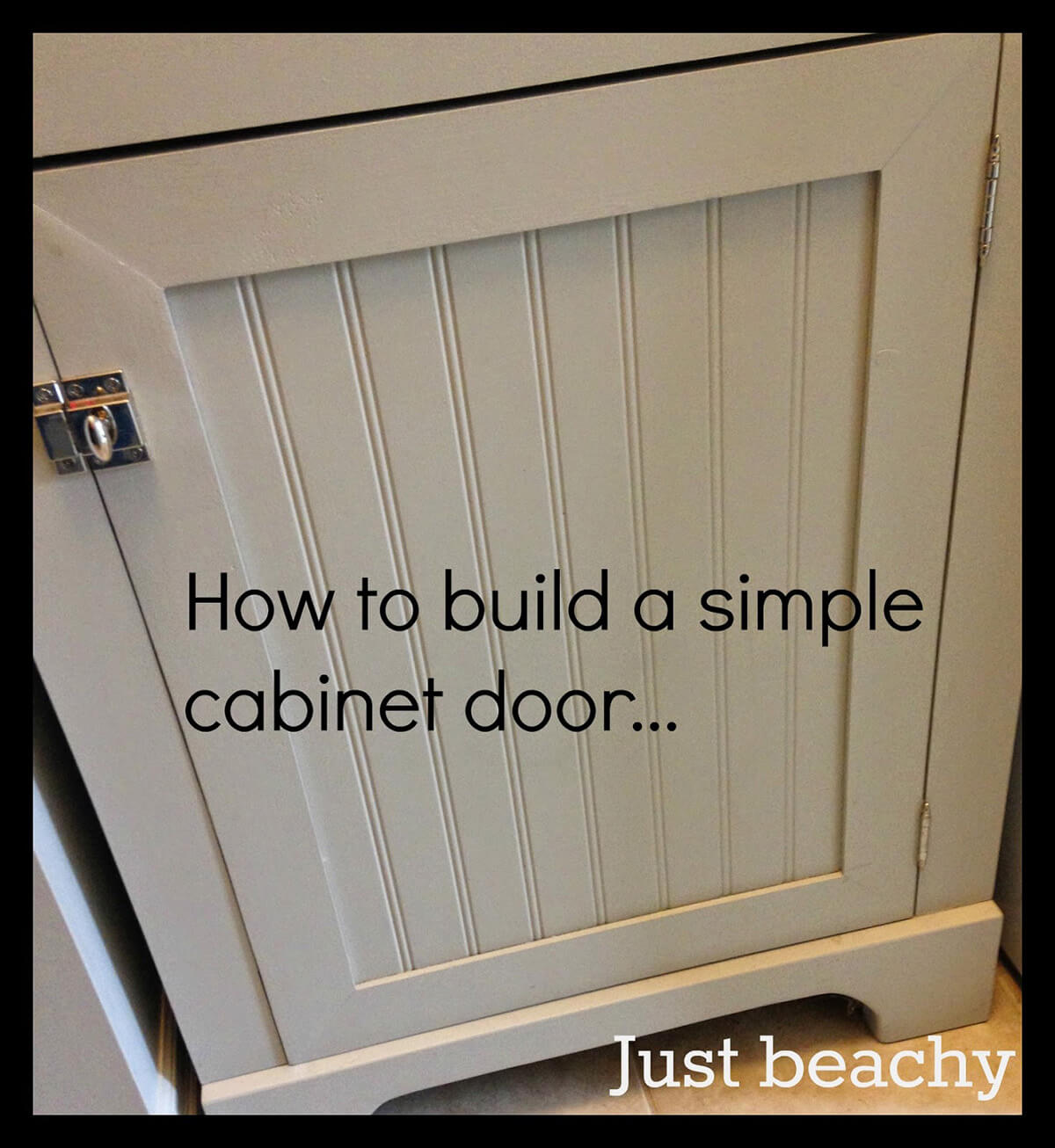 Build Your Own Shaker Cabinet Doors