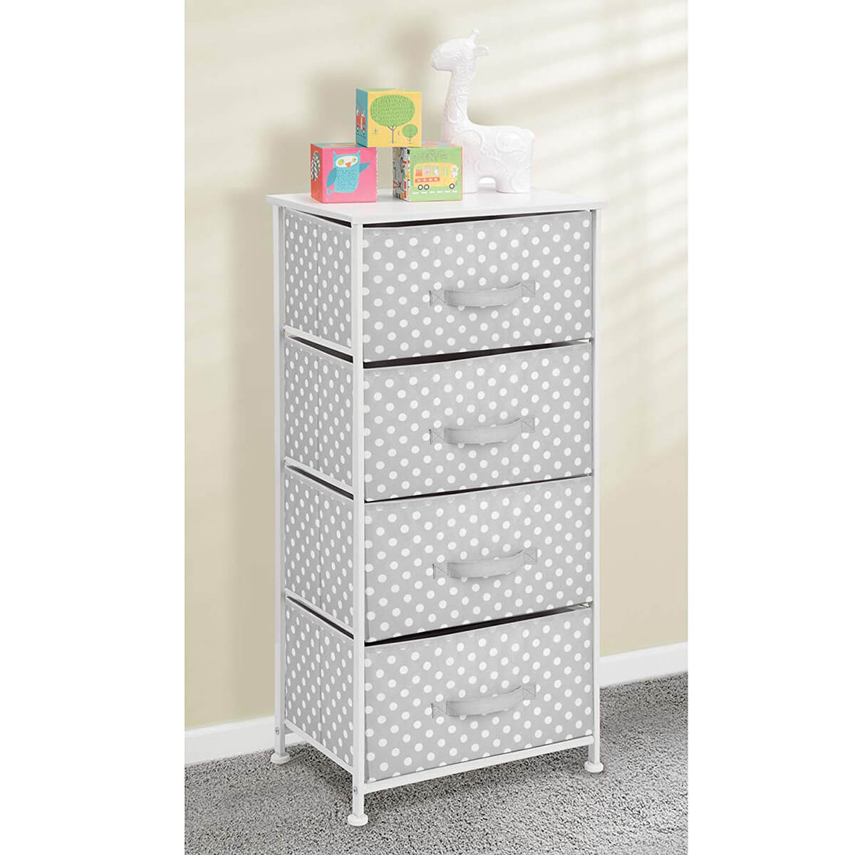 Adorable Polka-Dotted Dresser