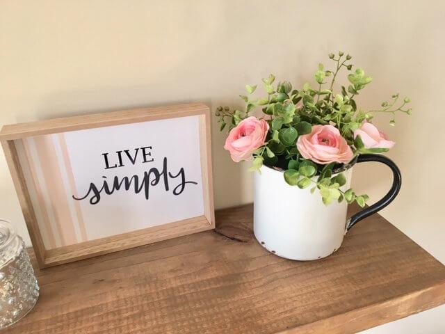 Bright and Blooming Rose Blossom Mug