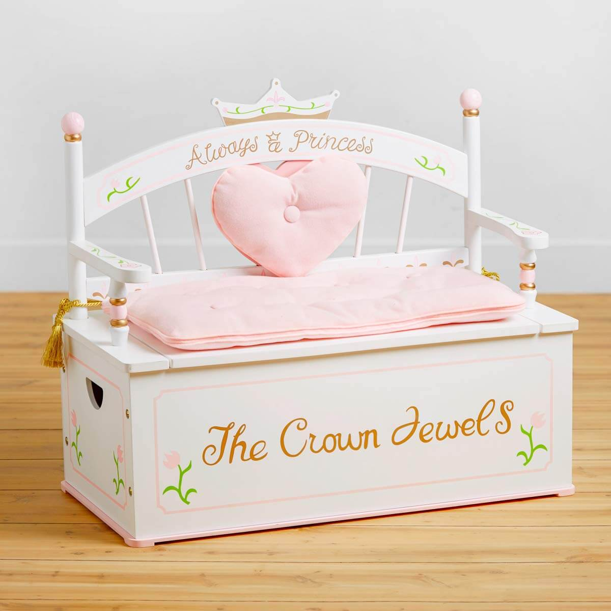 Perfect Princess Storage Bench