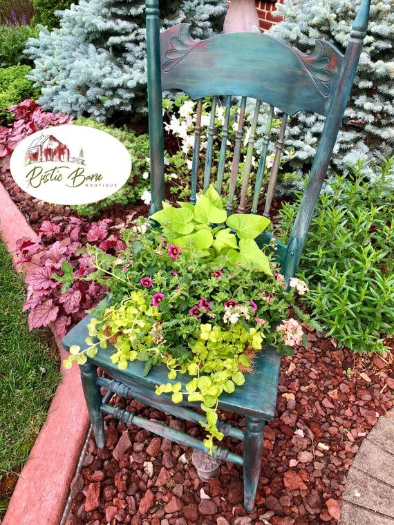 Spruce Up Your Space with a Chair Planter