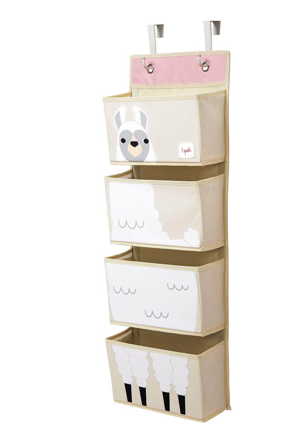 Door-Hanging Storage Bin Animals