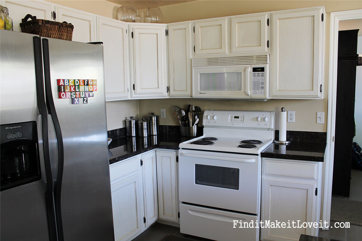 A Kitchen Cabinet Makeover on a Budget