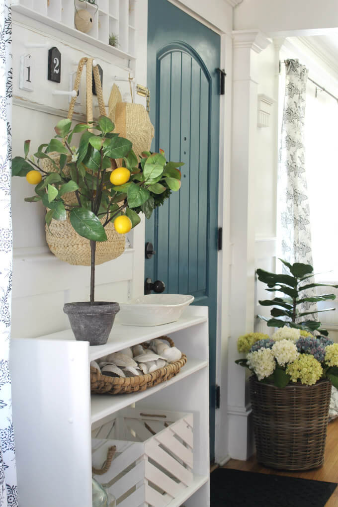Fresh Farmhouse Summer Decor