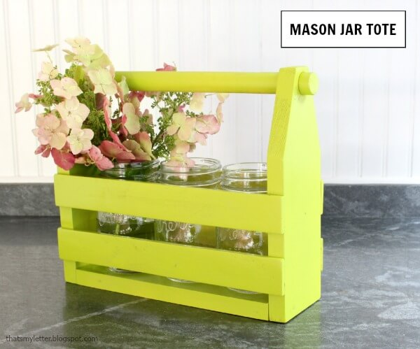 DIY Toolbox Flowerbox Centerpiece