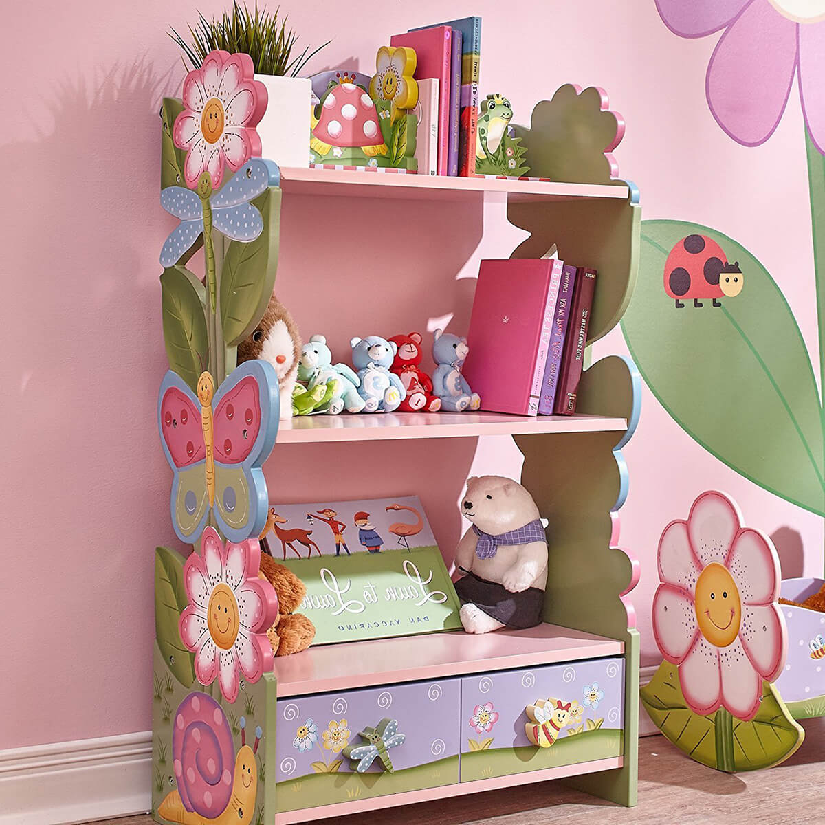 Dreamy and Magical Garden Bookcase