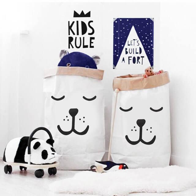 Paper Storage Bag Toy Storage
