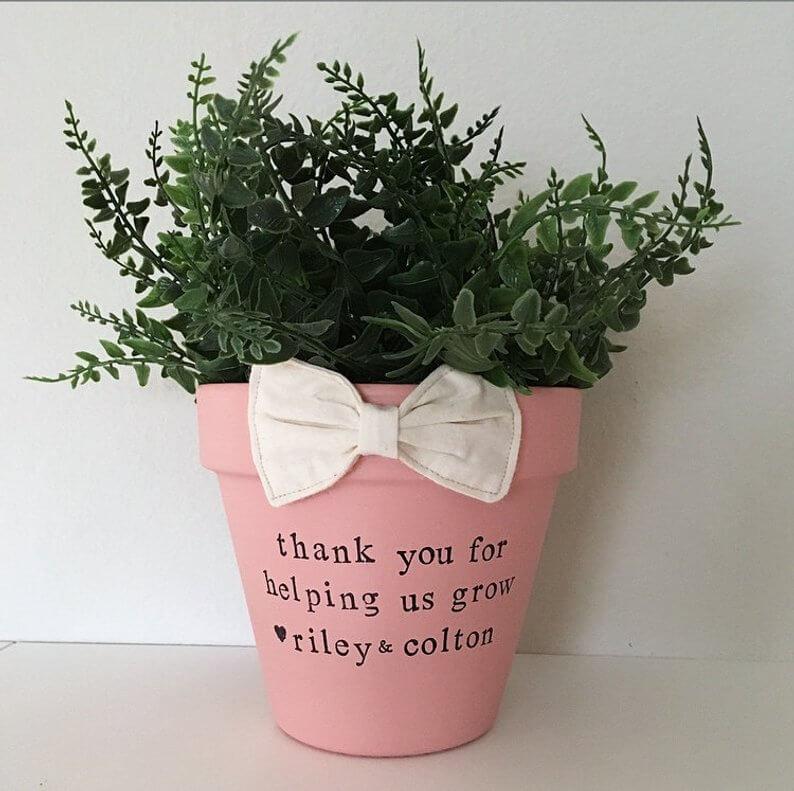 Medium Sized Colorful Gift Pot