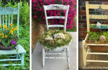 Chair Planter Designs