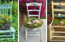 Chair Planter Designs