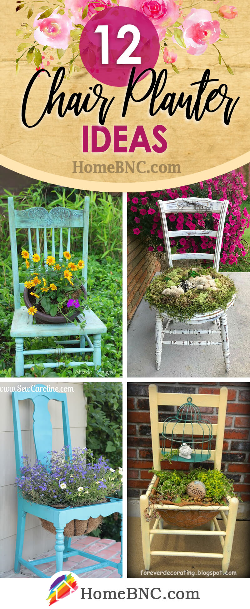 12 Best Chair Planter Ideas And Designs For 2021