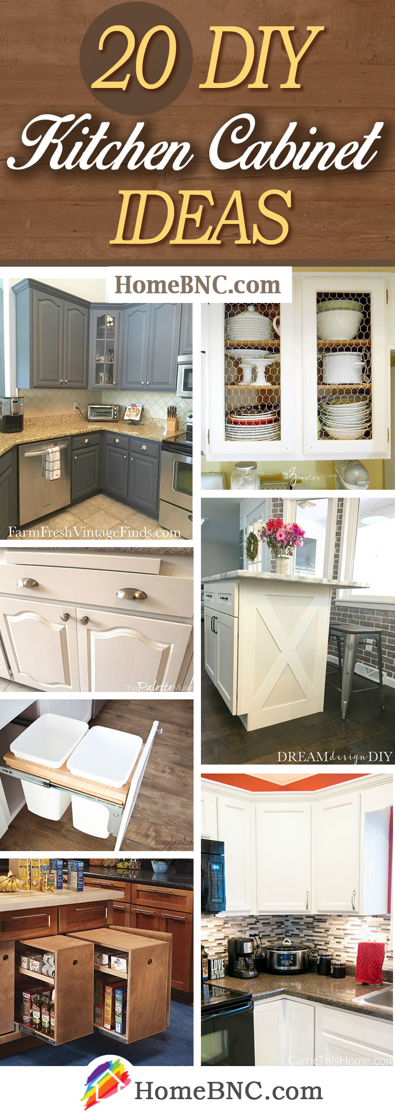 DIY Kitchen Cabinet Ideas