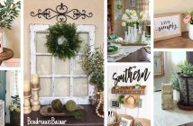 Farmhouse Decor Ideas with Greenery