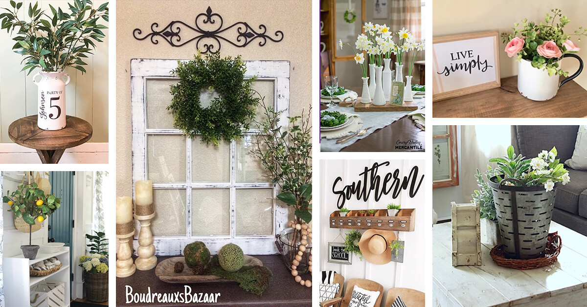 15 Best Farmhouse Decor Ideas And Designs For 2021