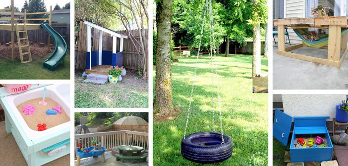 16 Best Outdoor Play Areas For Kids, Inexpensive Playground Ideas