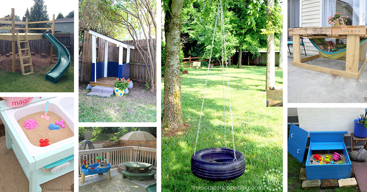 16 Best Outdoor Play Areas For Kids (Ideas And Designs) For 2021