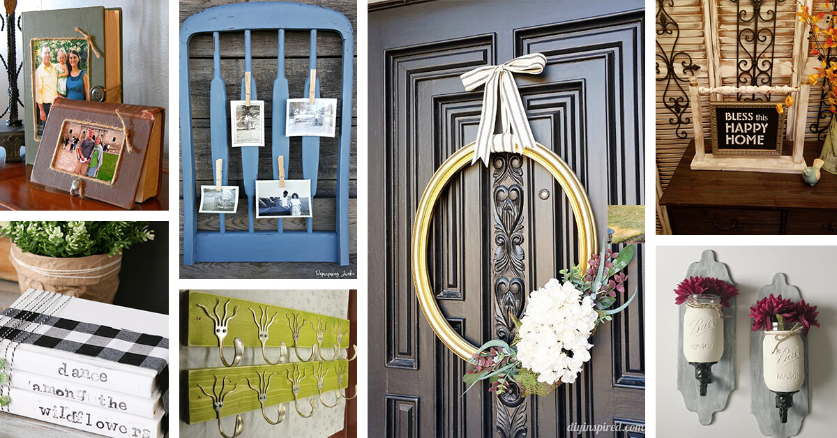 19 Recycled Home Decor Craft Ideas And Projects For 2019