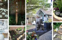 River Rock and Stone Garden Decorations