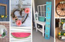 Summer Farmhouse Decorations